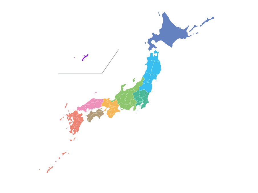Area of Japan